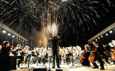 Le Pyrosymphonie Live à Courchevel